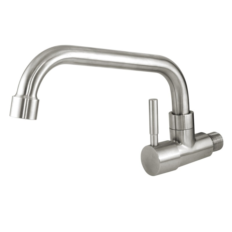 Mr. Plumber ET-100916Q-42-TM Wall Mount Kitchen Faucet 304 Stainless Steel