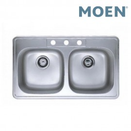 Moen 23241 Double Bowl