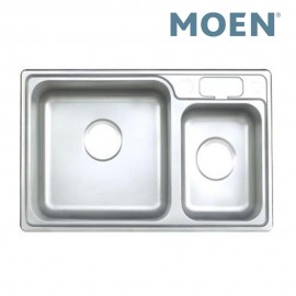 Moen 23606 Double Bowl