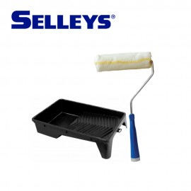 "Selleys 6"" Medium Roller with Black Tray"