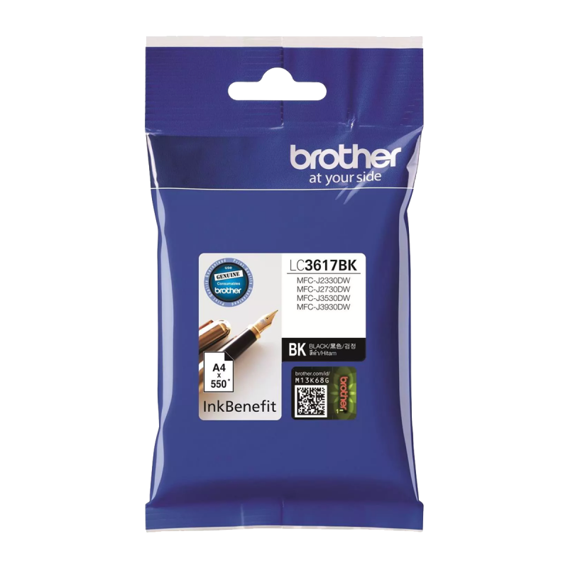 Brother LC-3617 BK High Yield Ink Cartridge