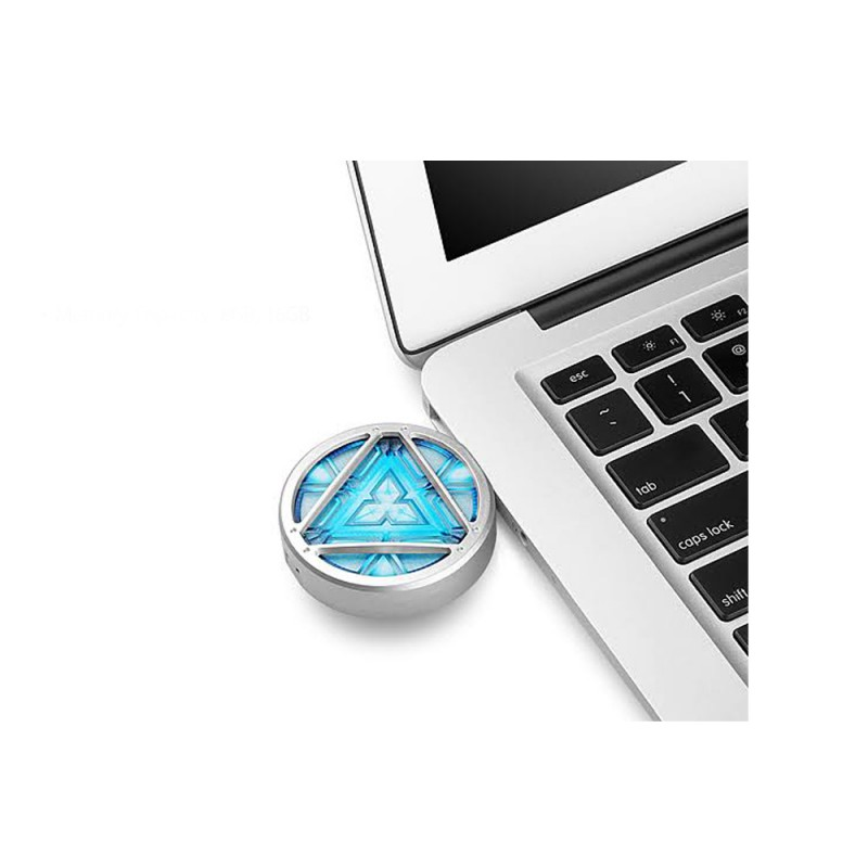 Infothink Marvel Iron Man 3 Arc Reactor Light Up USB Flash Drive 16GB