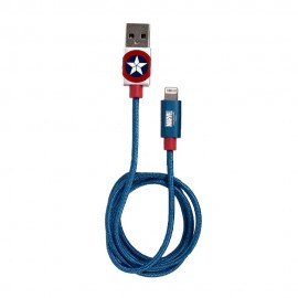 Infothink Marvel Captain America (iPhone/iPad) USB Fast Charging Cable