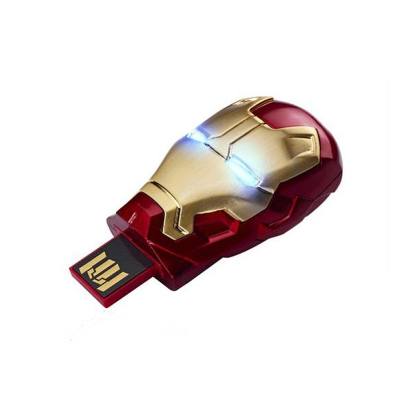 Infothink Iron Man 3 Mask 42 USB Flash Drive 16GB