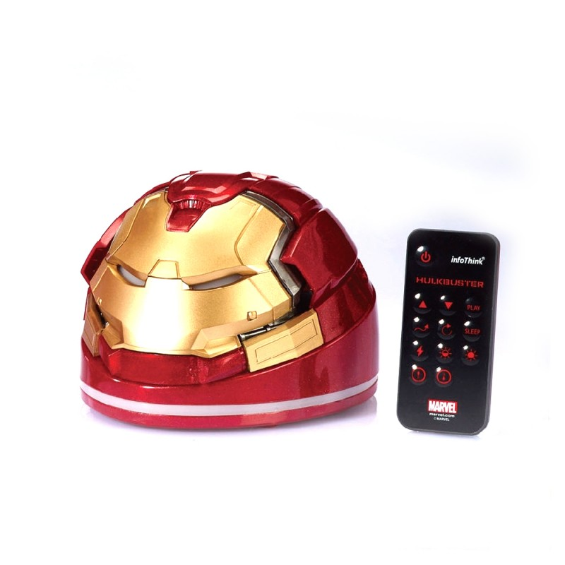 Infothink Marvel Avengers HULK BUSTER Remote Control Power Lamp
