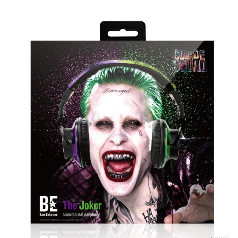 Infothink Suicide Squad THE JOKER Circumaural Headphone