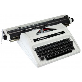 "Interwood 18"" Semi-Standard Manual Typewriter"